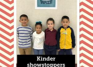 Kinder chiefs of the month