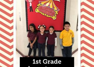 1st grade chiefs of the month
