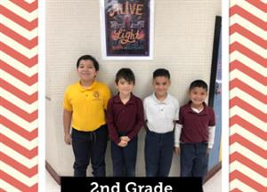 2nd grade chiefs of the month