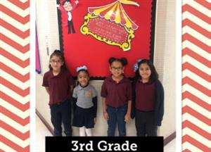 3rd grade chiefs of the month
