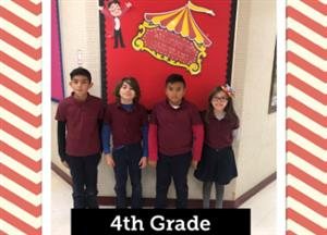 4th grade chiefs of the month
