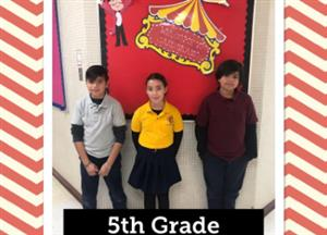 5th grade chiefs of the month