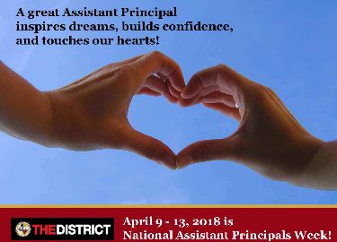 national assistant principal week graphic