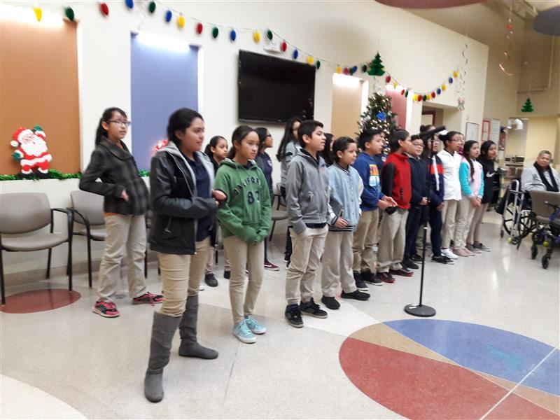 CHES Students Spread Holiday Cheer