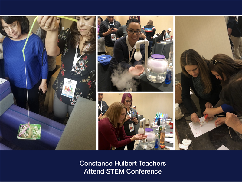 Teachers Train At STEM Conference