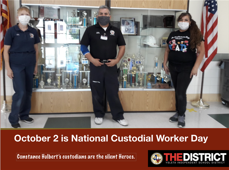 Custodians Day October 2