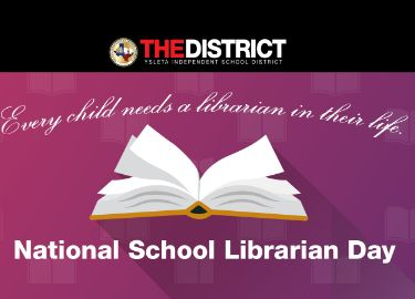 National School Librarian Day banner