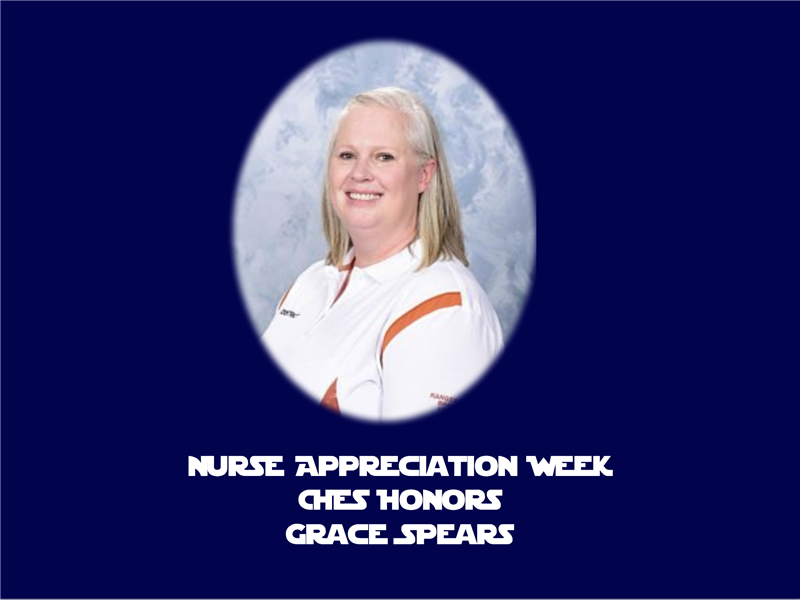 CHES Honor Nurse Spears