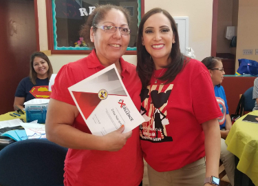 Congrats Ms. Navarro - Service Excellence August recipient