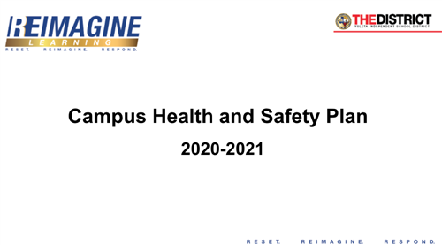 Campus Health and Safety Plan