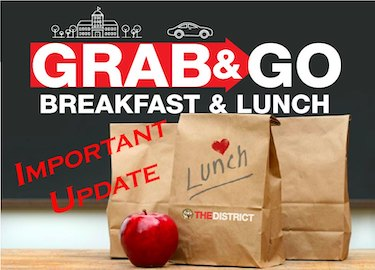 Update Information on Grab and Go Breakfast and Lunch
