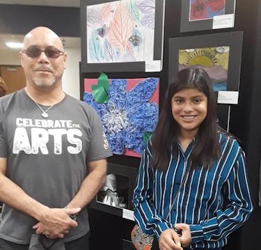 Congratulations Alessandra for winning 2nd place in YISD Art Competition