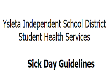 YISD Sick Day Guidelines