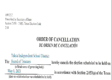 Order of Cancellation