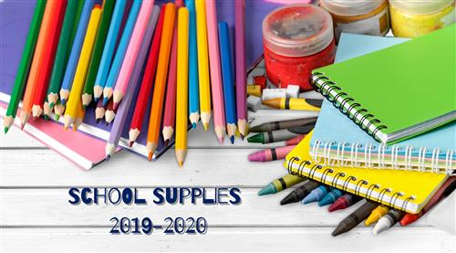 School Supplies banner