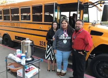 Bus Drivers with Mrs. Mendoza