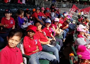 2nd Grade at the Ballpark