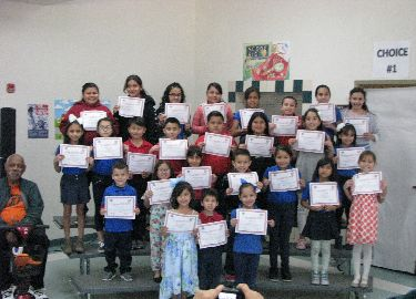Terrific Kids for the month of March