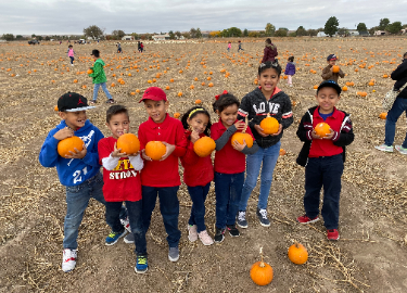 Second Grade Field Trip To The Pumpkin Patch