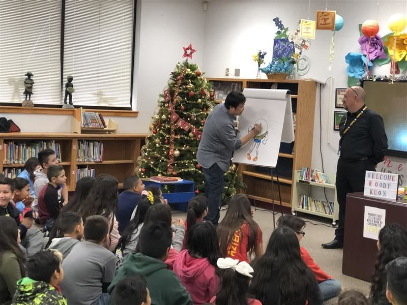 Author Vuthy Kuon Visits Lancaster