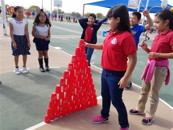 Stacking Cups Challenge