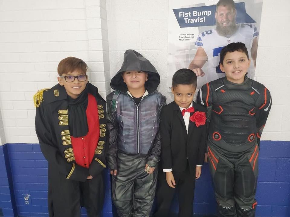 Mesa Vista students dressed up in their favorite Halloween costumes.
