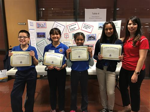 6th Graders Conquer Martha Valdez Showcase