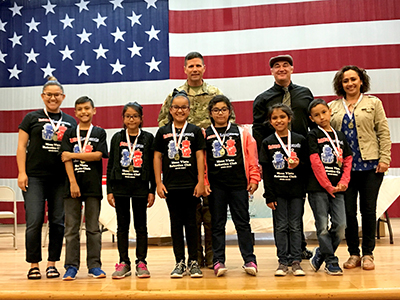 Leopards Roar Through 5 Star Innovation Cup STEM Fort Bliss Competition