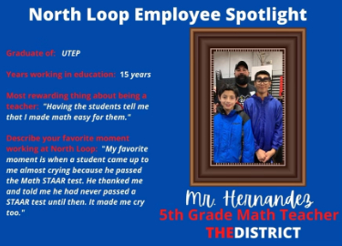 Mr. Hernandez, Employee Spotlight