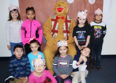 North Star Kindergarten Students Catch the Gingerbread Man!