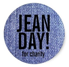 Donate $5 and wear jeans every Friday in April