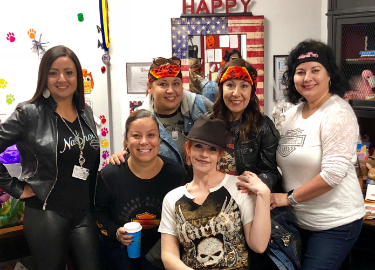 Red Ribbon Week: Biker Day