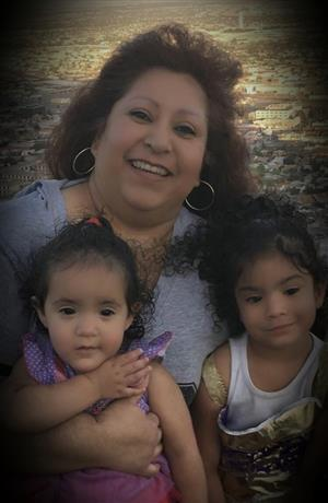 Grandma and granddaughters
