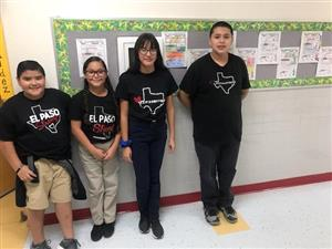 Presa students continue showing their support.