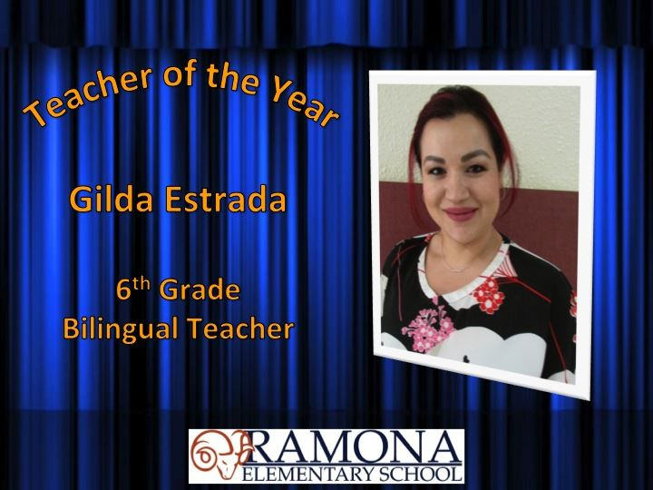Teacher of the Year 2018-2019