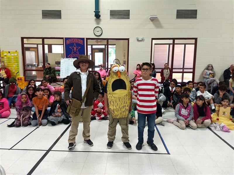 Literacy Parade at Ramona