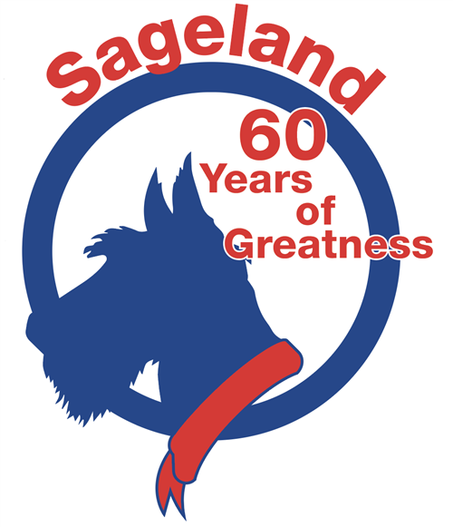 Sageland 60 Years of Greatness Logo
