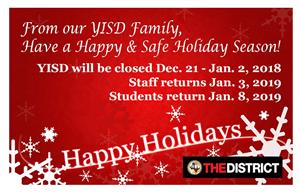 District Holiday Notification