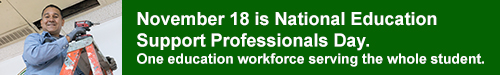November 18 is National Education Support Professionals Day