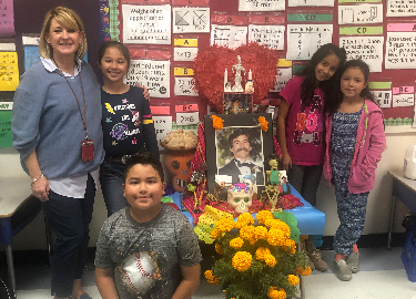 Class honors loved ones with Day of the Dead Memorial