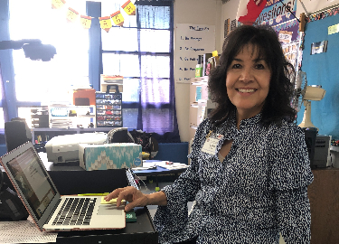 Teacher of the Month, Mrs. Gloria Ash