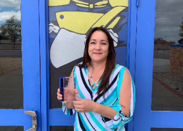 Scotsdale October Teacher of the Month-Mrs. West