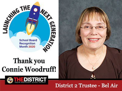 Soaring to Success: Thank you District 2 Trustee Mrs. Connie Woodruff