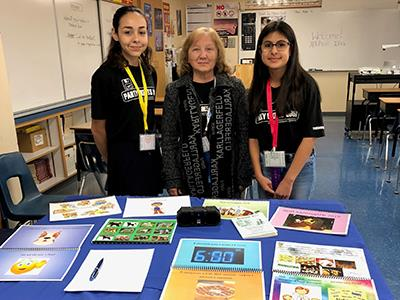 Alicia R. Chacon Int'l School students share their expertise at conference