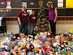 Teddy bear Collection for El Paso Hospitals by YES