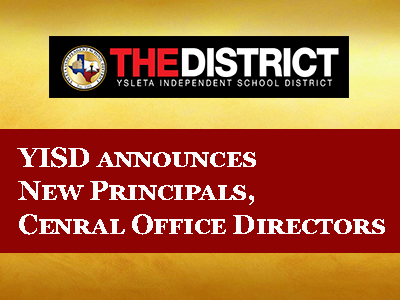 YISD names new principals, Central Office directors