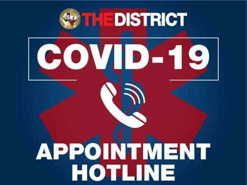 COVID 19 Appointment Hotline