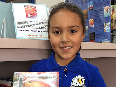 Ascarate Elementary student to introduce speaker at Texas Bluebonnet Award Luncheon