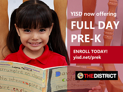 Full-day pre-K comes to YISD in 2019-2020 school year