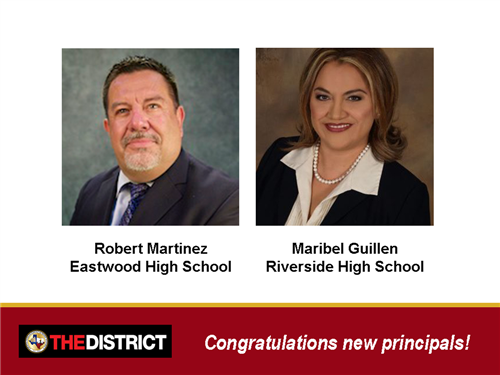 New High School Principals Appointed at YISD